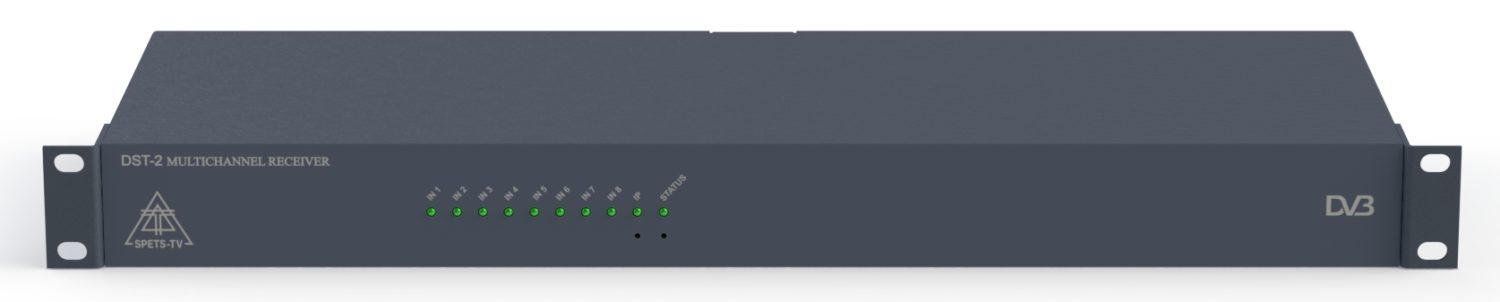 Eight-channel tuner DST series